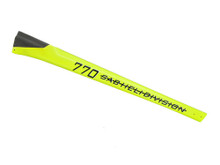 SAB Carbon Fiber Tail Boom Yellow - Goblin 770 Competition H0380-S