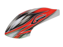 SAB Canomod Airbrush Canopy Red/White - Goblin 500 H0271-S