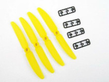5030 Gemfan 5x3 Standard Rotation Yellow Props for 250 Quad Racer