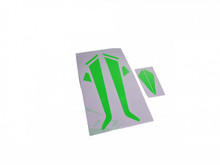 SAB Landing Gear and Fin Green Sticker - Goblin 380 H0589-S
