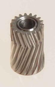 04118 Pinion for herringbone gear 18 Teeth M0.5 Mikado Logo