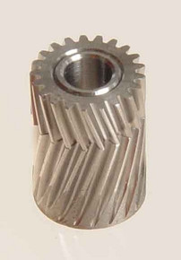 04121 Pinion for herringbone gear 21 Teeth M0.5 Mikado Logo