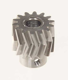 05011 Pinion for herringbone gear 14 teeth 25° M1 6mm Mikado Logo