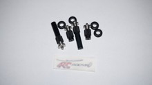RC Booya 700X Dominator Quick Release 4PC Canopy Mounts
