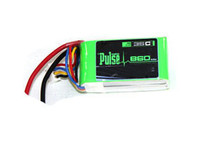 Pulse Lipo 860mAh 11.1V 35C - Ultra Power Series PLU35-8603