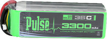 Pulse Lipo 3300mAh 22.2V 35C- Ultra Power Series PLU35-33006