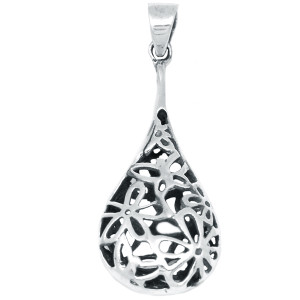Plain 925 Sterling Silver Pendant Plain Design Jewelry SPJ2122