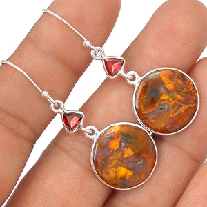 Pietersite 925 Sterling Silver Earrings Jewelry 64518