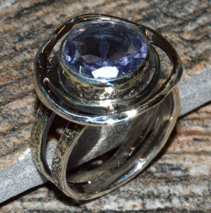 JJ8310 Colorchange Alexandrite (Lab.) 925 Silver Ring Jewelry s.6