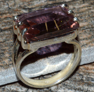 JJ8294 Colorchange Alexandrite (Lab.) 925 Silver Ring Jewelry s.7
