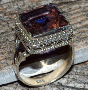 JJ8289 Colorchange Alexandrite (Lab.) 925 Silver Ring Jewelry s.8