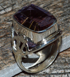 JJ8318 Colorchange Alexandrite (Lab.) 925 Silver Ring Jewelry s.8