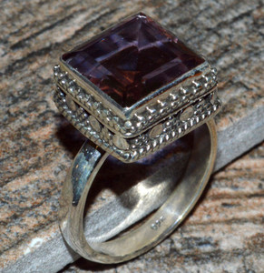 JJ8309 Colorchange Alexandrite (Lab.) 925 Silver Ring Jewelry s.8