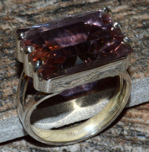 JJ8293 Colorchange Alexandrite (Lab.) 925 Silver Ring Jewelry s.7
