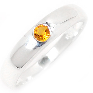Citrine 925 Sterling Silver Ring Jewelry s.7 R5338C-7