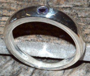 Iolite 925 Sterling Silver Ring Jewelry JJ10785