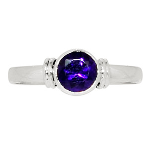 Amethyst - South Africa 925 Sterling Silver Ring Jewelry s.9 32368R