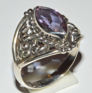 Colorchange Alexandrite (Lab.) 925 Sterling Silver Rings Jewelry s.8  JB13229