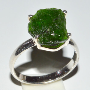 Chrome Diopside 925 Sterling Silver Rings Jewelry s.8.5  JB13267