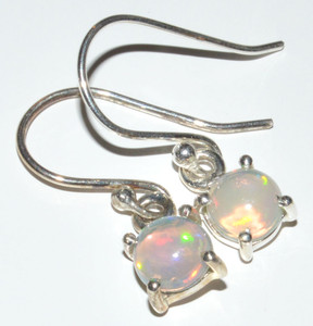 Ethiopian Opal 925 Sterling Silver Earrings Jewelry JB12534