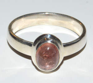 Pink tourmaline 925 Sterling Silver Rings Jewelry s.7.5  JB13209