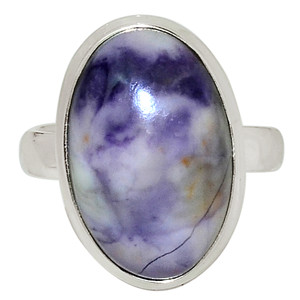Tiffany Stone - Utah USA 925 Sterling Silver Ring Jewelry s.7.5 32611R