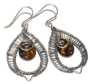Pietersite - Namibia 925 Sterling Silver Earrings Jewelry JB15042