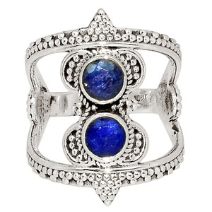 Sapphire 925 Sterling Silver Ring Jewelry s.6.5 33644R