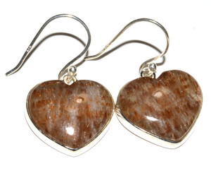 Golden Cacoxenite 925 Sterling Silver Earrings Jewelry JB14910
