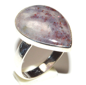 Sunstone In Iolite - India 925 Sterling Silver Ring Jewelry s.6.5 JB15505