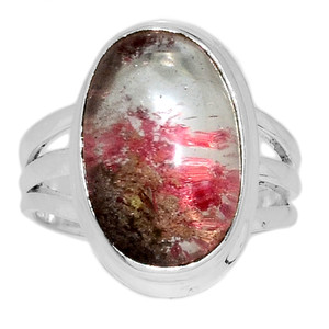 Lodolite 925 Sterling Silver Ring Jewelry s.6.5 LDOR497