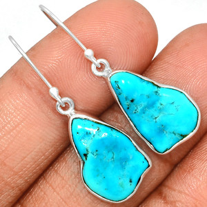 Arizona Turquoise 925 Sterling Silver Earrings Jewelry SBTE209