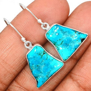 Arizona Turquoise 925 Sterling Silver Earrings Jewelry SBTE232