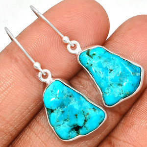 Arizona Turquoise 925 Sterling Silver Earrings Jewelry SBTE215