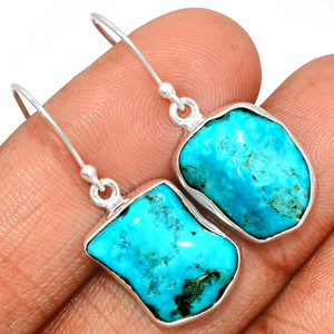 Arizona Turquoise 925 Sterling Silver Earrings Jewelry SBTE207