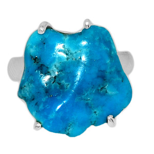 Arizona Turquoise 925 Sterling Silver Ring Jewelry s.6 SBTR1023