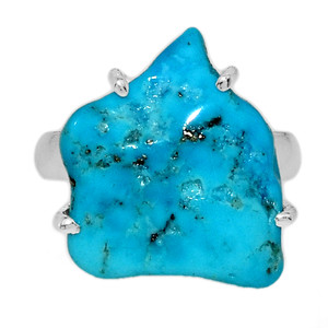 Arizona Turquoise 925 Sterling Silver Ring Jewelry s.6 SBTR998