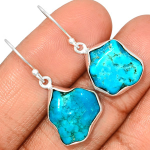 Arizona Turquoise 925 Sterling Silver Earrings Jewelry SBTE221