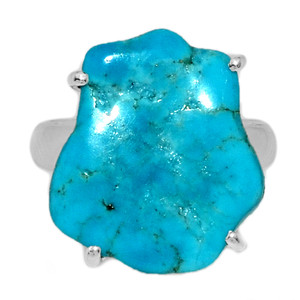 Arizona Turquoise 925 Sterling Silver Ring Jewelry s.6 SBTR1050