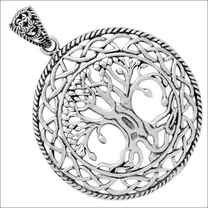 Tree Of Life 925 Sterling Silver Pendant Jewelry TLJ15