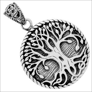 Tree Of Life 925 Sterling Silver Pendant Jewelry TLJ17