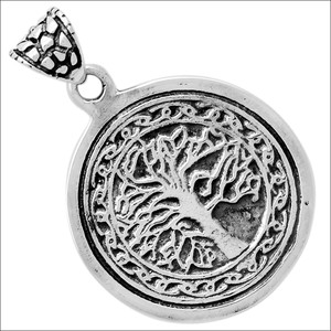 Tree Of Life 925 Sterling Silver Pendant Jewelry TLJ18