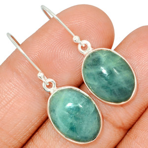 Aquamarine 925 Sterling Silver Earring  Jewelry AQME285