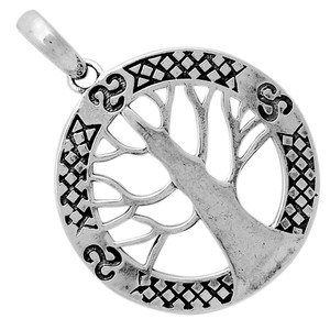Tree Of Life 925 Sterling Silver Pendant Jewelry TLJ1