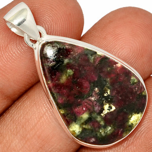 Eudialyte 925 Sterling Silver Pendant  Jewelry EDLP632