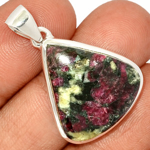 Eudialyte 925 Sterling Silver Pendant  Jewelry EDLP651