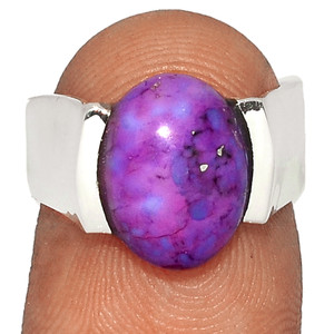 Purple Mohave Turquoise 925 Sterling Silver XGB Jewelry Ring s.6 BR38461