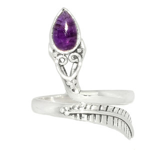 Amethyst - African 925 Sterling Silver Ring XGB Jewelry s.7.5 BR42880 212I