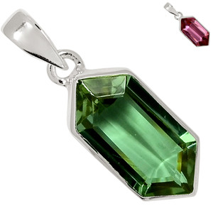 Colorchange Alexandrite (Lab.) 925 Sterling Silver Pendant XGB Jewelry BP41616