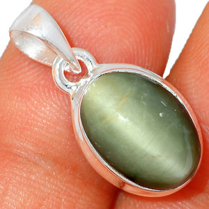 Cat's Eye 925 Sterling Silver Pendant XGB-Jewelry BP44461